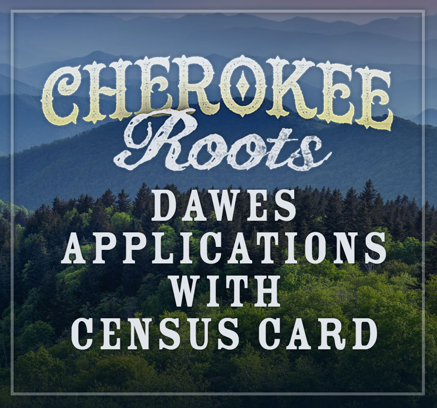 Dawes Application with Census Card